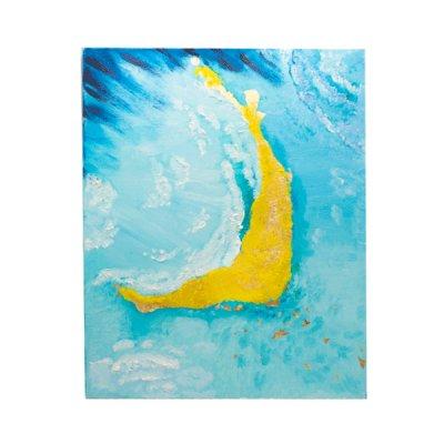 Картина на холсте 50х60 Мальдивы интерьерная (масло) ##