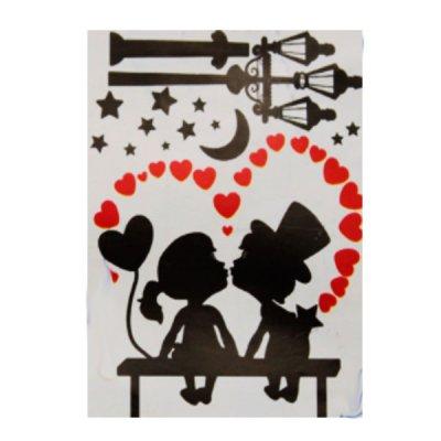 Набор наклеек для интерьера  Влюбленные №33 **