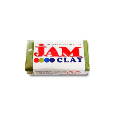 """Глина полимерная """"Jam Clay"""" 18703 20 г оливковый"""