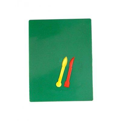 Доска для пластилина со стеками большая