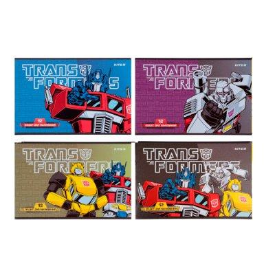 Альбом 12 л 120 г/м2 Kite TF21-241 Transformers лак
