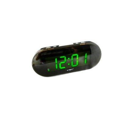Часы-будильник электрон. VST 717-4 салатовые **