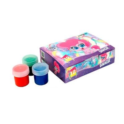 Гуашь 12 цветов Kite LP21-063 Little Pony 20 мл