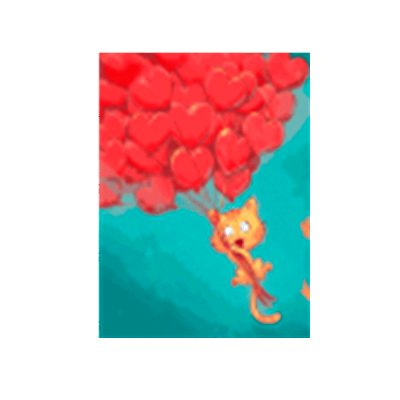 "Набор картина по номерам 40х50 ""Кошачья мечта"" 15551-АС **"