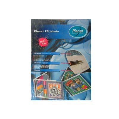 Бумага самоклейка А4  для CD 190030 (10 л) **