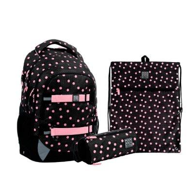 Набор Kate  рюкзак пенал сумка для обуви SET_WK21-727M-1 ##
