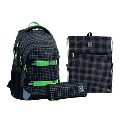 Набор Kate  рюкзак пенал сумка для обуви SET_WK21-727M-2 ##