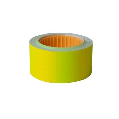 Ценник прямоугольный 30х40 BuroMAX 282113-08 (150 шт) 4,5 м желтый