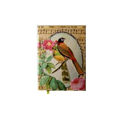 Книга алфавитная А6 80 л Птица объемная HDU-145