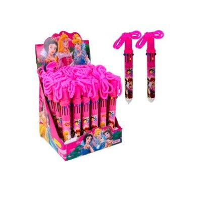 """Ручка детская на веревке 10 цветов """"Принцессы"""""""