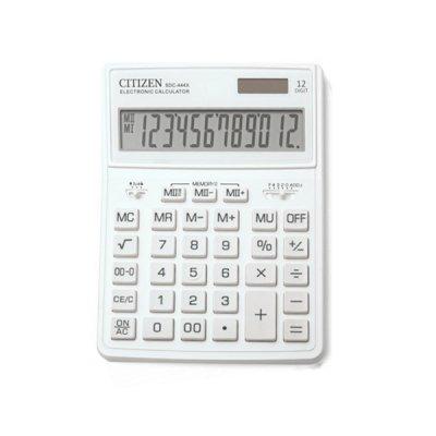 "Калькулятор ""Citizen"" SDC-444 XRWHE-white 12р."