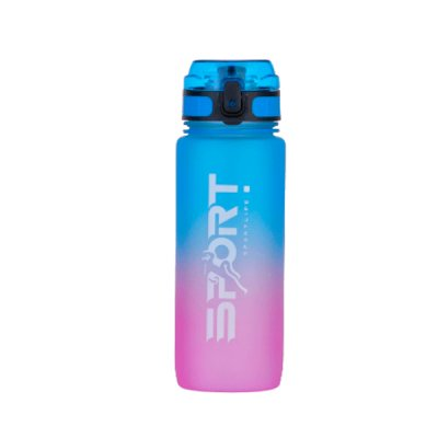 Бутылка для воды Optima О51944 Gradient 800мл синя-розовая **