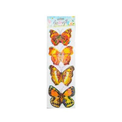 Наклейка Бабочка 023 голограмма