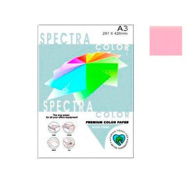 """Бумага """"Sinar spectra"""" А3 160 г/м2 (250 л) 170 розовая **"""