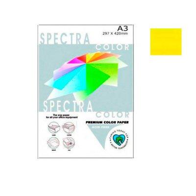"""Бумага """"Sinar spectra"""" А3 160 г/м2 (250 л) 210 лимон **"""
