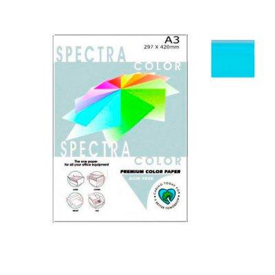 """Бумага """"Sinar spectra"""" А3 80 г/м2 (500 л) 120 голубая **"""