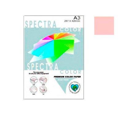 """Бумага """"Sinar spectra"""" А3 80 г/м2 (500 л) 140 светло-розовая **"""