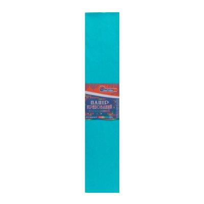 Бумага гофрированная Krepina 100% 8023 голубая