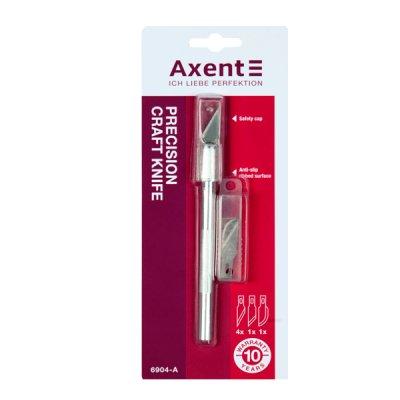 Нож макетный Axent 6904 металический корпус (+6 лезвий)