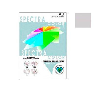 """Бумага """"Sinar spectra"""" А3 80 г/м2 (500 л) 272 серый **"""