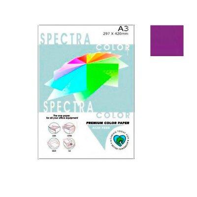 """Бумага """"Sinar spectra"""" А3 80 г/м2 (500 л) 44а темно-фиолетовый **"""