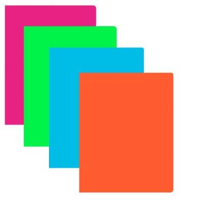 """Папка  пластиковая с 30 файлами А4  """"VGR"""" SP1314-30 """"Neon"""" Mix"""