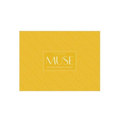 """Альбом для эскизов А4+ 15л 240 г/м2 """"Ш"""" Muse 035 отрыв."""