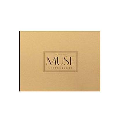 Альбом для эскизов А4+ 20 л 150 г/м2 «Ш» Muse 029 отрывные листы