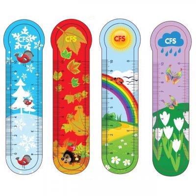 "Закладка для книг ""CFS"" CF69108 ""Seasons"" (4шт)"