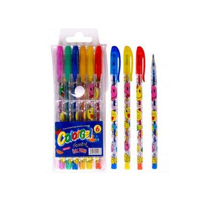 Набор гелевых ручек ароматизированных 6 цветов