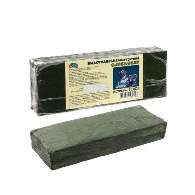 Глина Гамма НВ 401301 Скульптурный Творчество 400 г оливковый