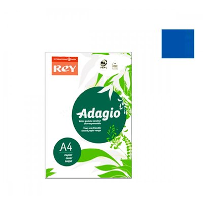 "Бумага ""REY Adagio"" А4 160 г/м2 (250 л) 51 темно-синий **"