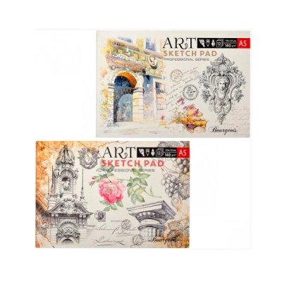 Альбом для эскизов А5 «М» 140 г 1429-А-035 (12 л) отрывной лист
