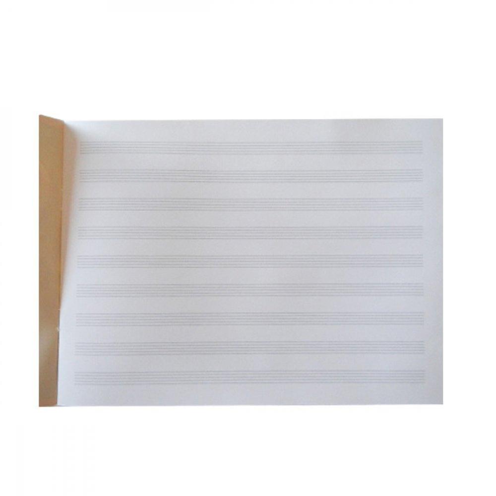 Тетрадь для нот А4 в307/1 200/219 20 л (горизонтальная)