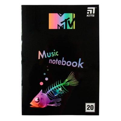 """Тетрадь для нот А4 """"Kite"""" MTV20-404-2 """"MTV-2"""" 20 л"""