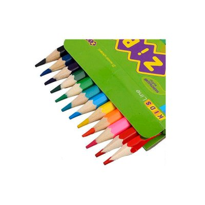 Карандаши цветные  ZiBi ZB.2414 Kids Line 12 цветов