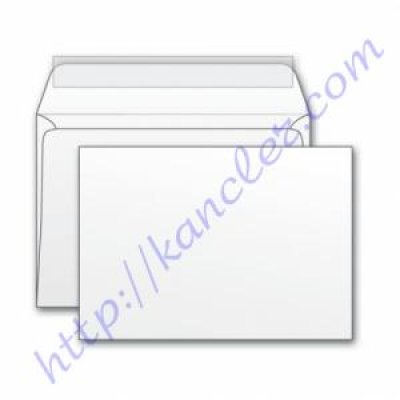 Конверт 110х220 DL MK бел 75гр (2012)