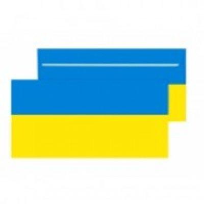 Конверт 110х220 DL СКЛ желто-голубой 80 гр (2240UA)