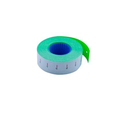 Ценник прямоугольный  22х12 BuroMAX 281101-08 (1000 шт) 12 м зеленый