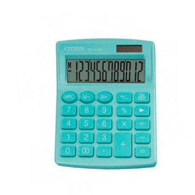 """Калькулятор """"Citizen"""" SDC-812 NRGRE-green 12р."""