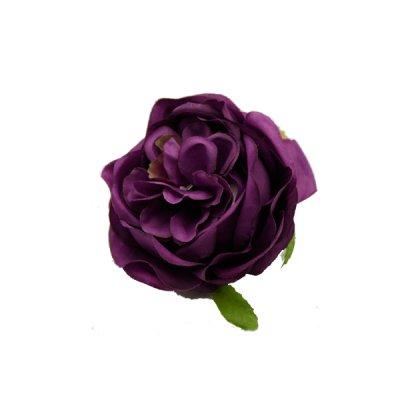Голова цветка Английская роза сливовая **