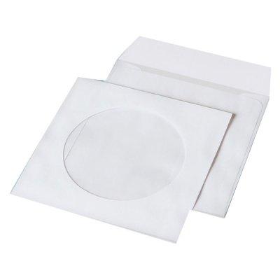 Конверт для дисков CD МК бел 80гр с окном (6112)