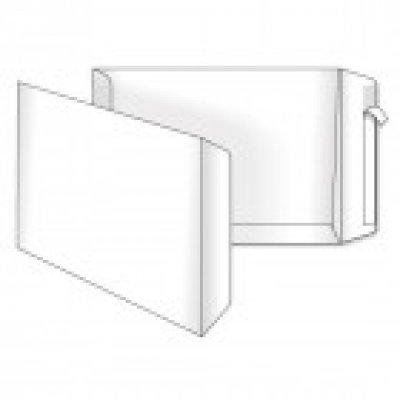 Конверт-пакет 250х353 В4 СКЛ белый 100 гр (5040)