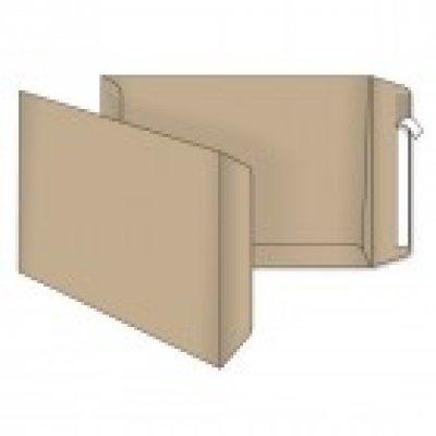 Конверт-пакет 250х353 В4 СКЛ коричневый 100 гр (5240)