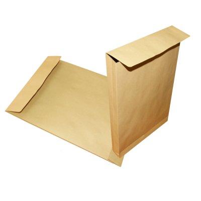 Конверт-пакет 250х353 В4 СКЛ крафт 130 гр (391157)