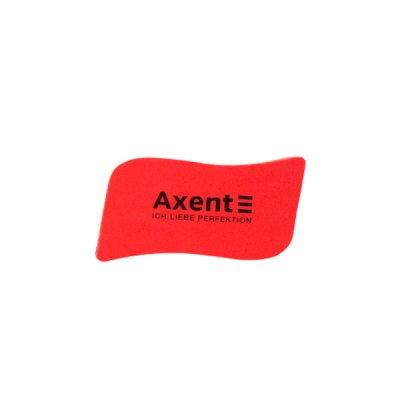 """Губка для доски """"Axent"""" 9804-04 с магнитом красная"""