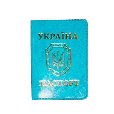 Обложка  Паспорт  Sarif ОВ-8 бирюза