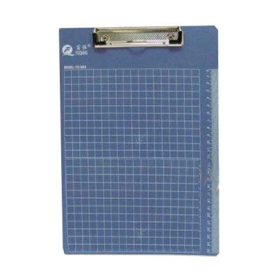 """Доска-планшетка с клипсой А4 """"J.Otten""""  в клетку 8004В/4205 MIX"""