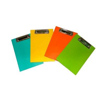 Доска-планшетка  с клипсой А5 ПО-2 ламинированная Mix