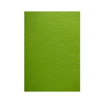 """Бумага для дизайна """"Heyda"""" А4 220 г/м2 """"Милан"""" 204772624 светло-зелёная"""